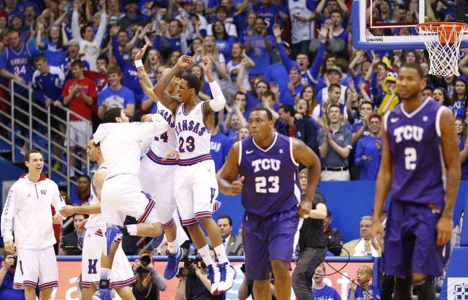 4ca80c2ab27 No. 13 Kansas at TCU: Free Big 12 Basketball Pick