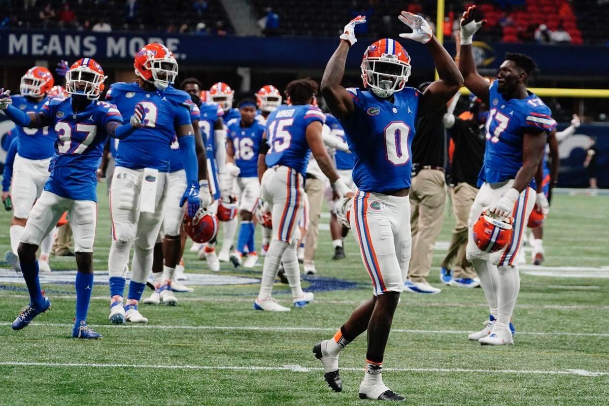 OKlahoma Sooners Celebrating Touchdown Vs Florida Gators