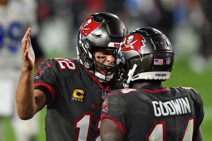 Tampa Bay celebrating touchdown Vs Washington