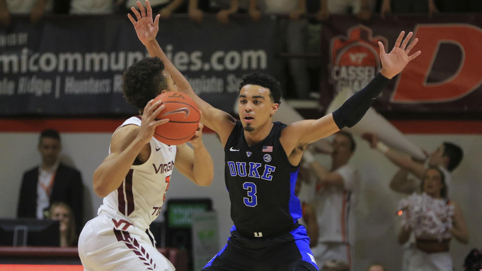 Virginia Tech vs Duke Mens Basketball