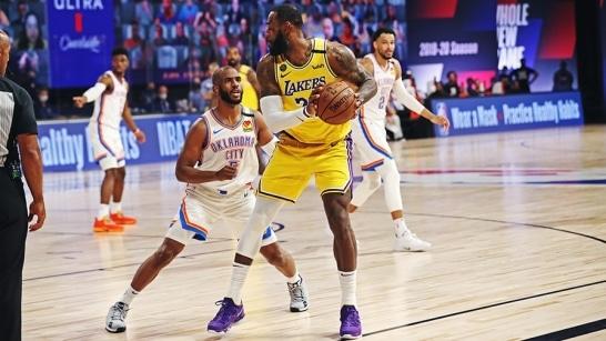 La Lakers vs OKC Thunder 1/13/21