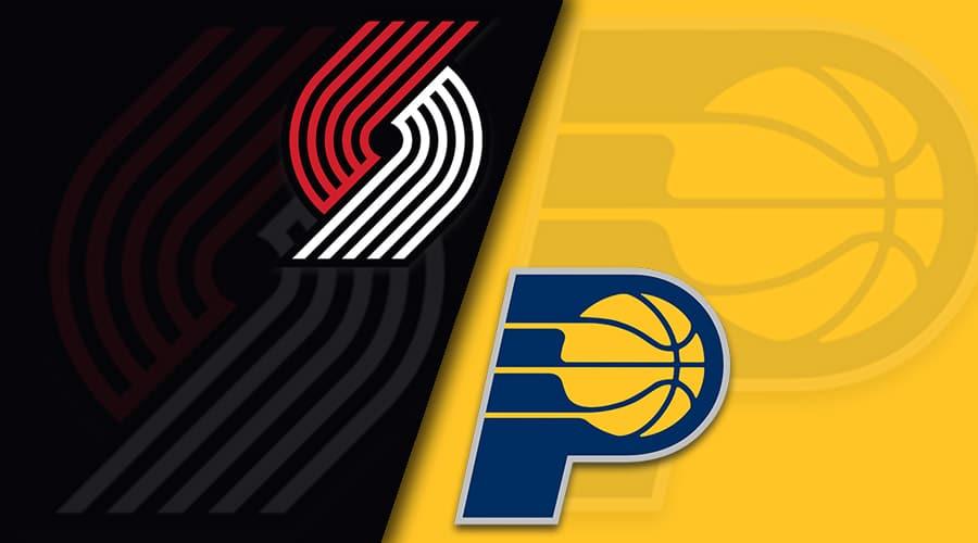 indiana vs Portland 1/14/21