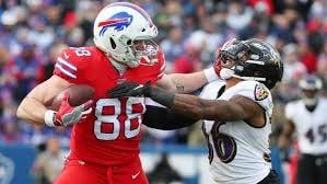 Bills Vs Ravens almost sacking QB