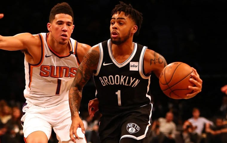 Nets vs Suns battling for the ball, picks and predictions