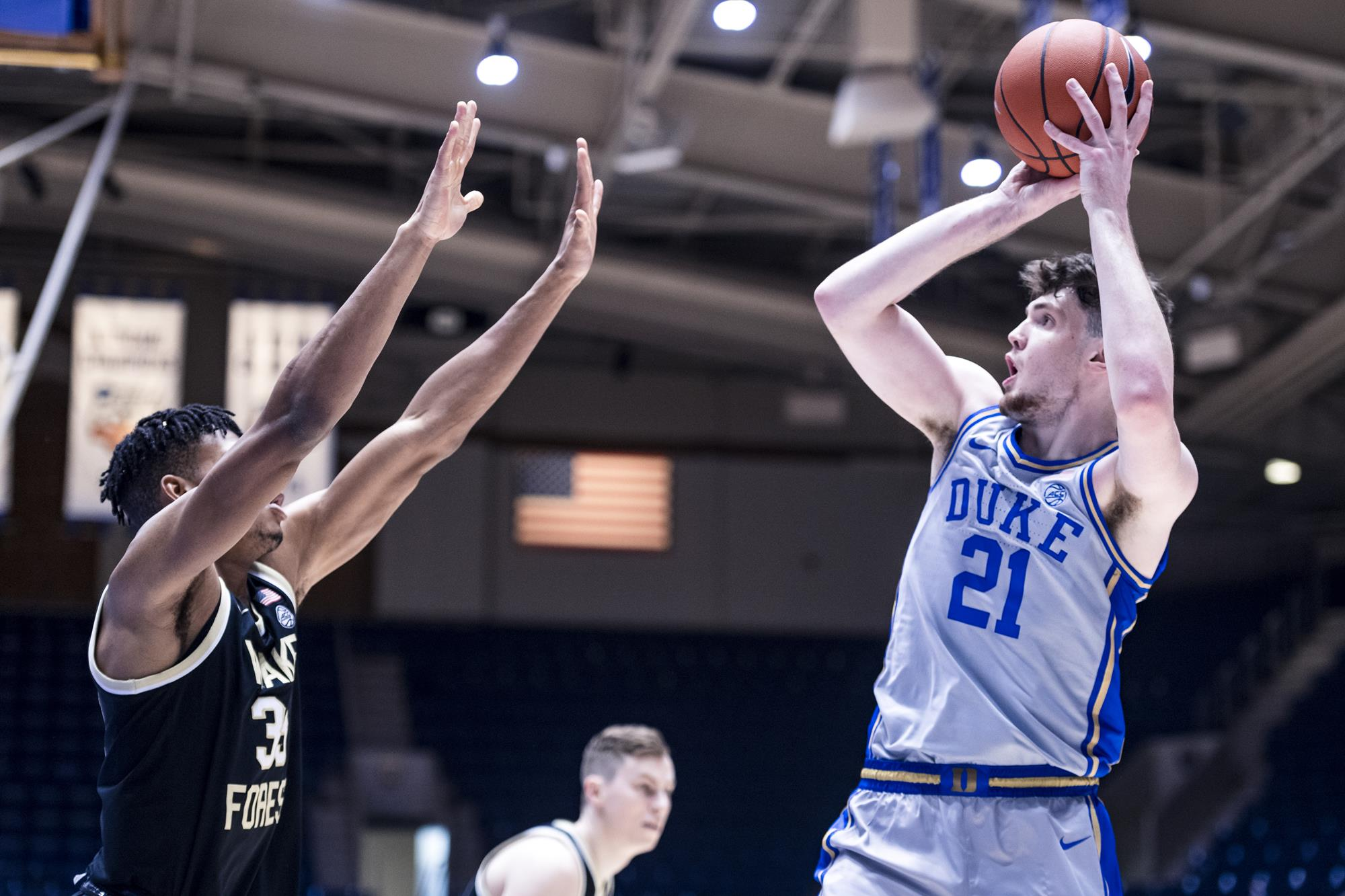 Wake Forest vs Duke 21 who is up for the shot