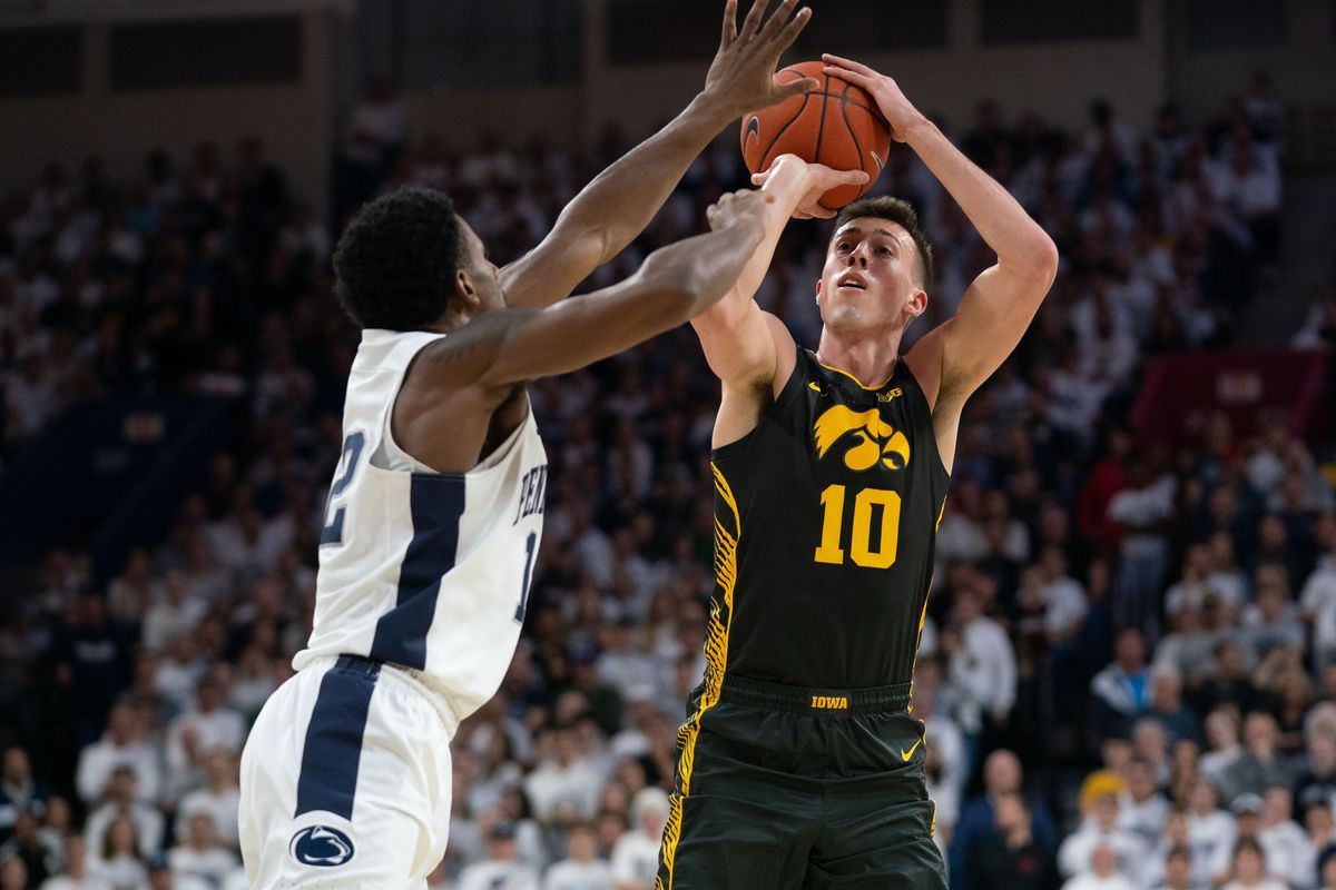 Penn State vs Iowa on the court predictions