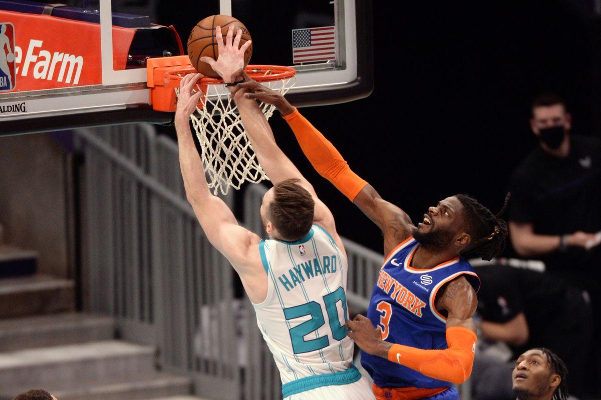 New York Knicks vs. Charlotte Hornets