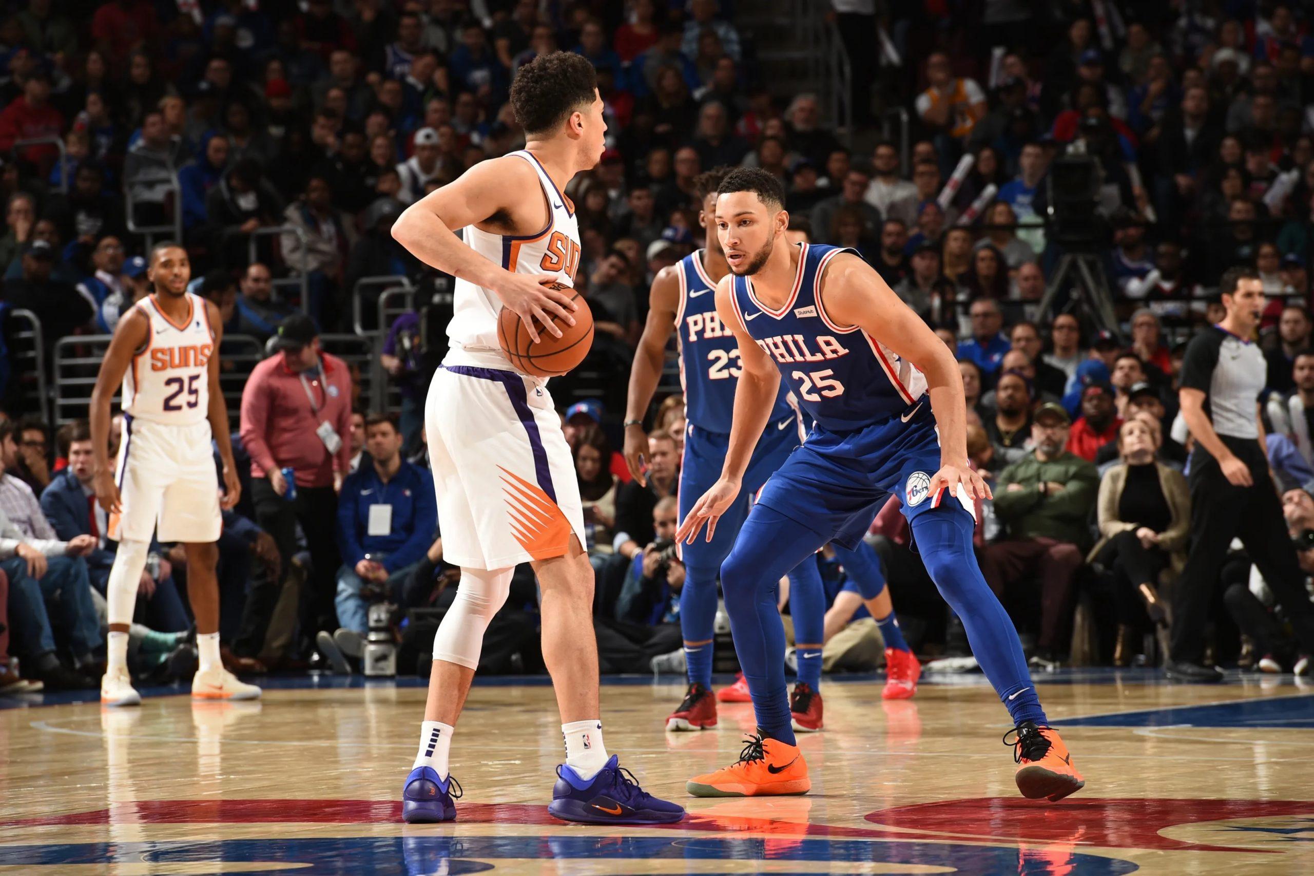 Phoenix Suns vs Philadelphia 76ers
