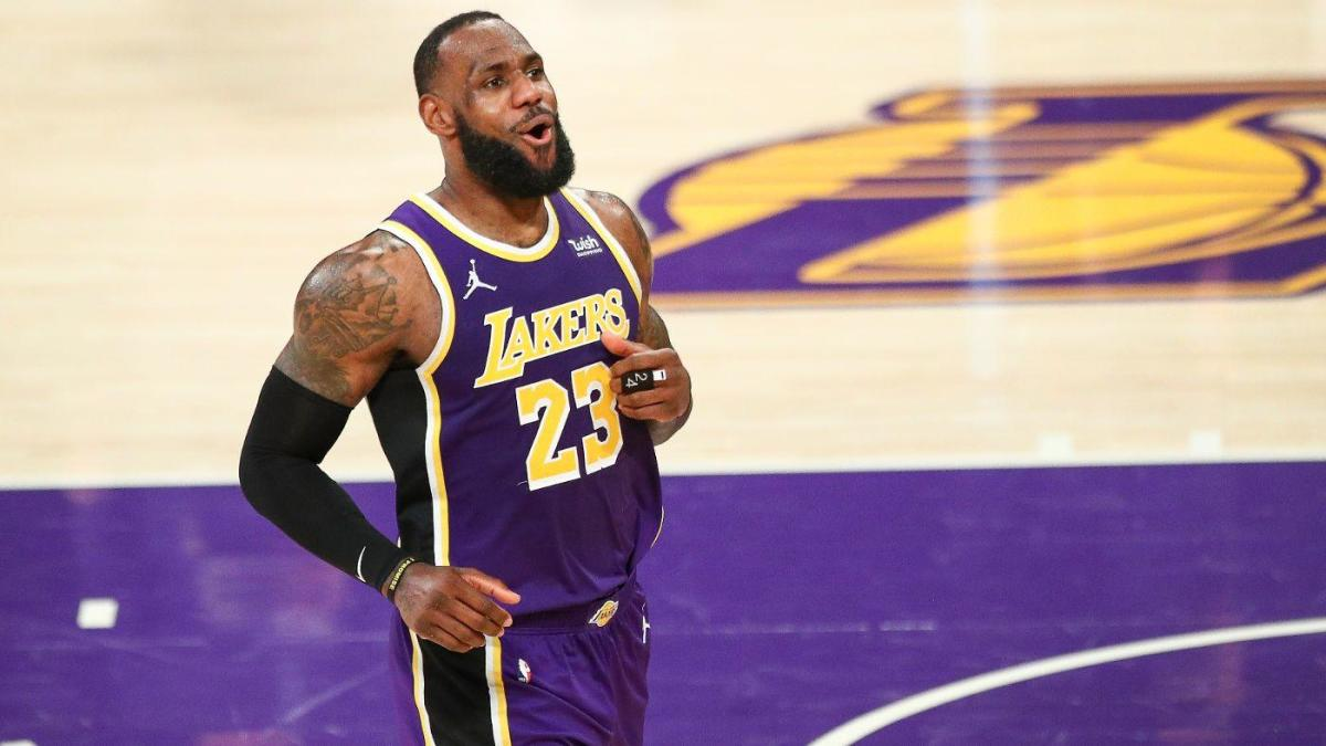 Los Angeles Lakers vs. Washington Wizards basketball game.