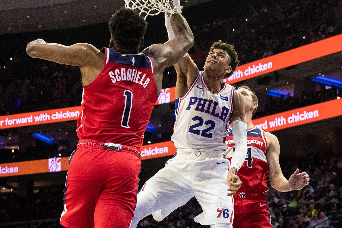 Washington Wizards vs Philadelphia 76ers