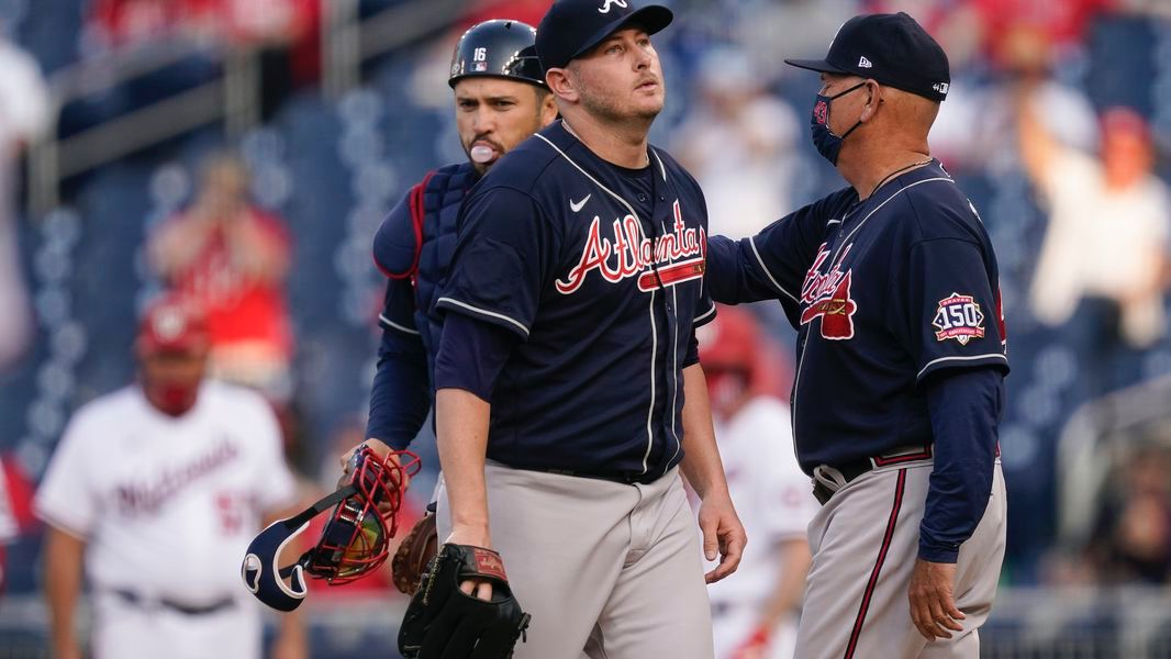 Atlanta Braves vs. Washington Nationals baseball game