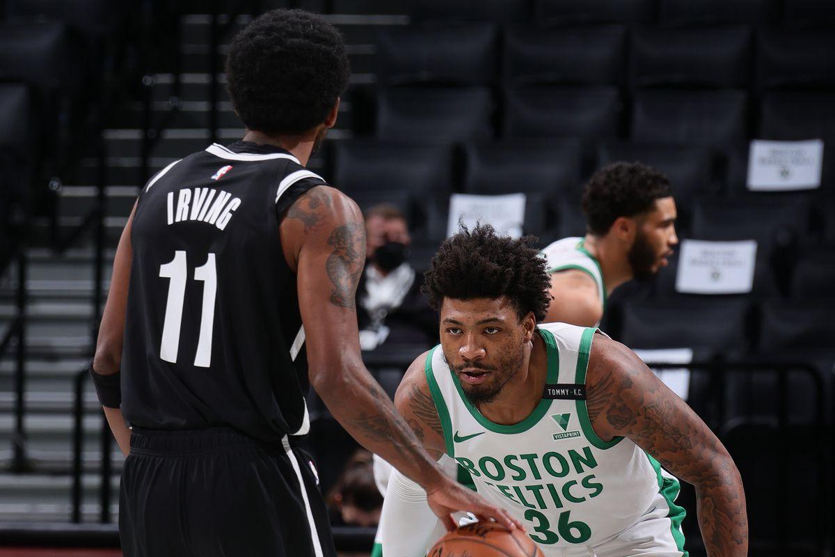 Boston Celtics vs. Brooklyn Nets basketball game.
