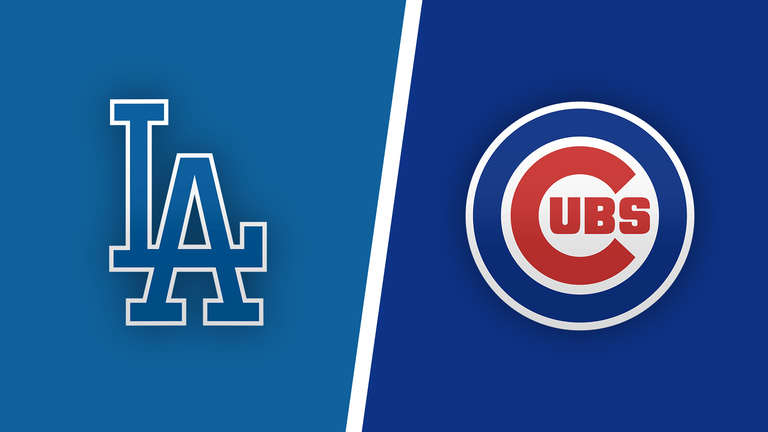 Chicago Cubs vs. Los Angeles Dodgers baseball game