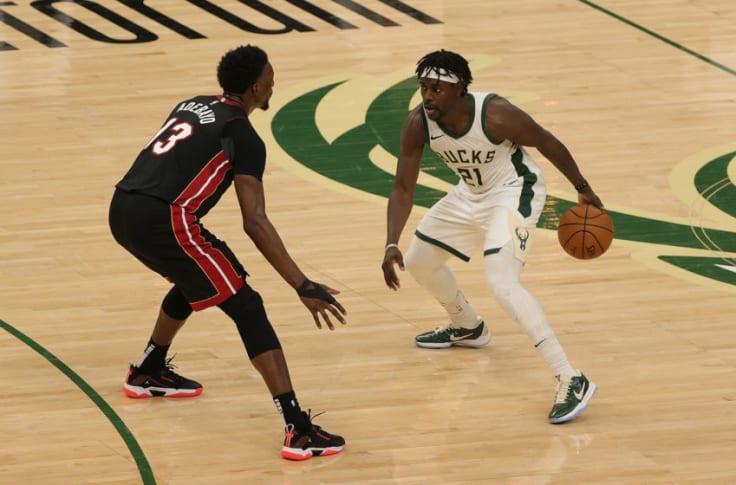 Miami Heat vs Milwaukee Bucks.