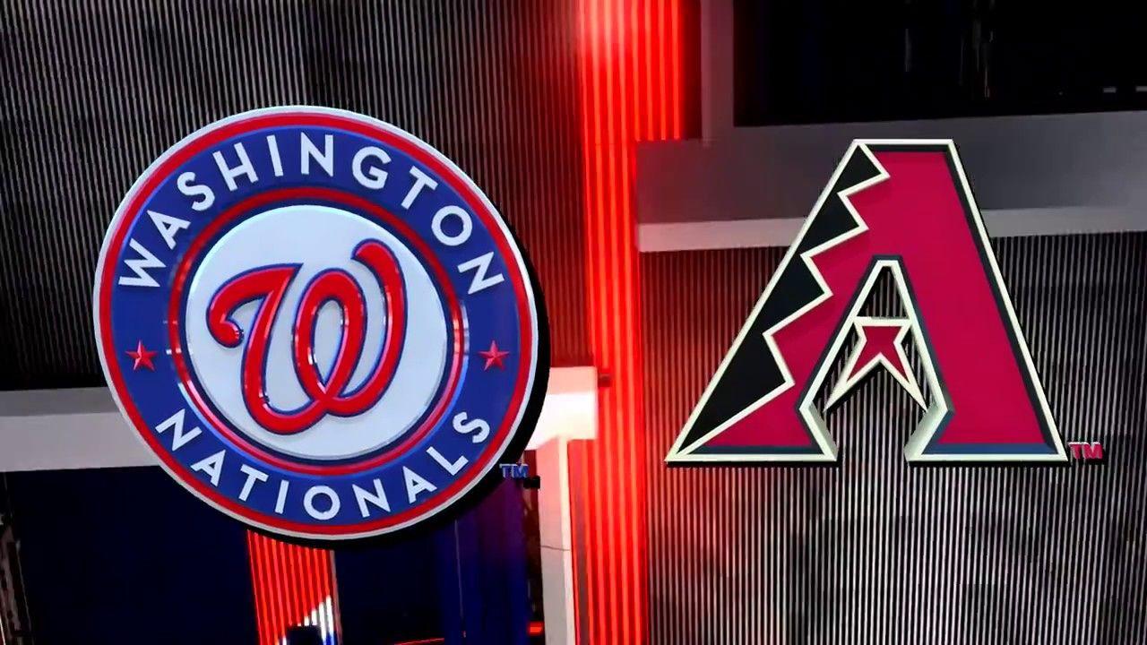 Washington Nationals vs. Arizona Diamondbacks. MLB