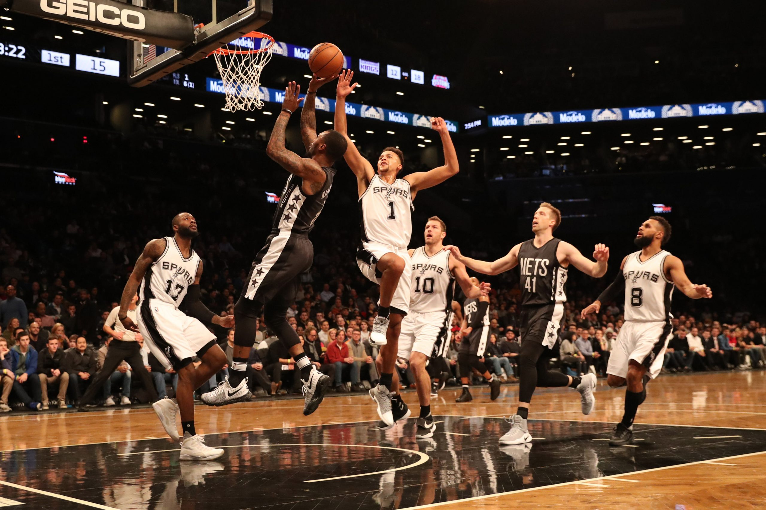 Brooklyn Nets vs. San Antonio Spurs