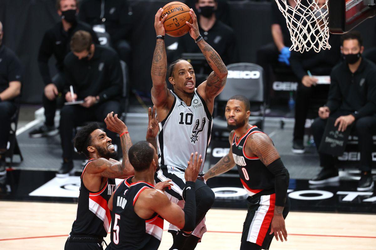 Portland Trail Blazers vs San Antonio Spurs