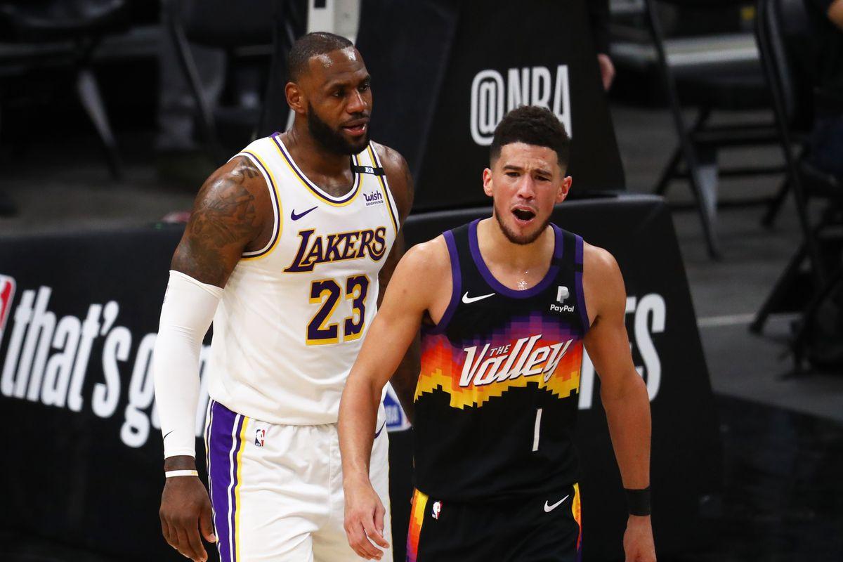 Los Ángeles Lakers vs Phoenix Suns