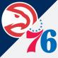 76rs vs Hawks NBA Playoffs