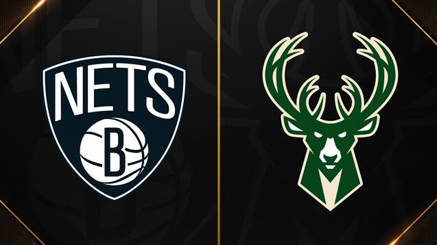 Bucks vs Nets NBA Playoffs