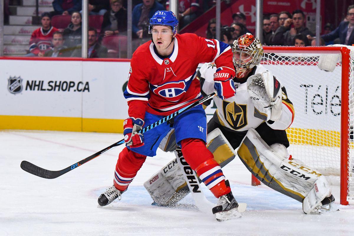 Golden Knights vs Montreal Canadiens   NHL Hockey