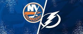 Islanders vs lightning NHL