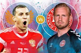Russia vs Denmark   Euro Soccer 2021