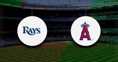 Angels vs Rays MLB